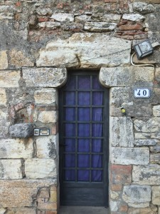 Presepi di Iano di Montaione Porta Medievale particolare
